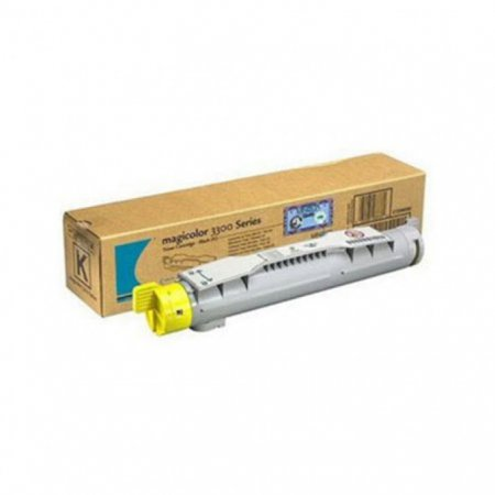 Konica Minolta 1710550-002 Yellow OEM Laser Toner Cartridge