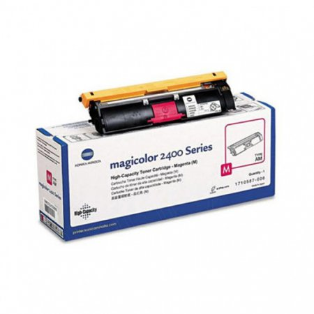 Konica Minolta 1710587-006 HY Magenta OEM Toner Cartridge