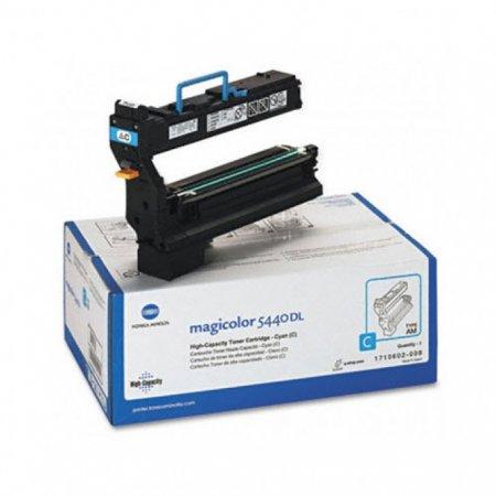 Konica Minolta 1710602-008 HY Cyan OEM Toner Cartridge