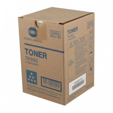 Konica Minolta 4053-701 Cyan OEM Laser Toner Cartridge