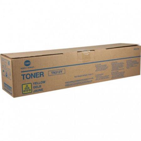 Konica Minolta 8938-702 (TN312Y) Yellow OEM Toner Cartridge