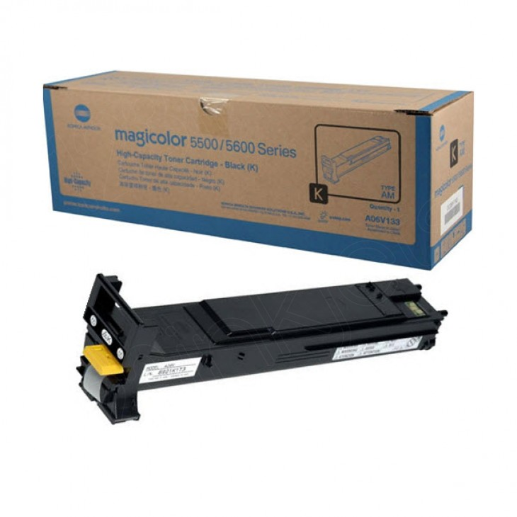 Konica Minolta A06V133 High-Yield Black OEM Toner Cartridge