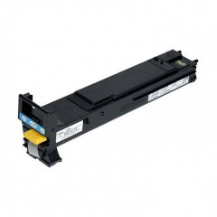 Konica Minolta A06V433 High-Yield Cyan OEM Toner Cartridge