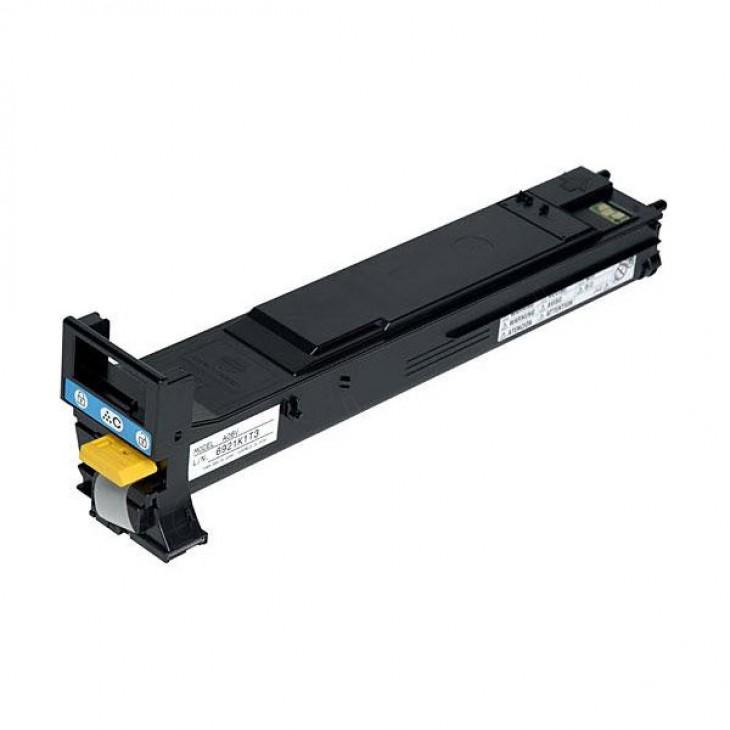 Konica Minolta A06V433 High-Yield Cyan OEM Toner Cartridge