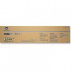 Genuine Konica-Minolta TN611Y Yellow Toner