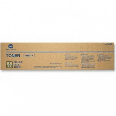 Genuine Konica-Minolta TN611Y Yellow Toner