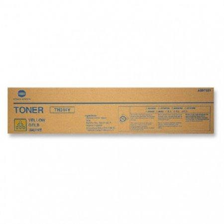 Genuine Konica-Minolta TN314Y Yellow Toner