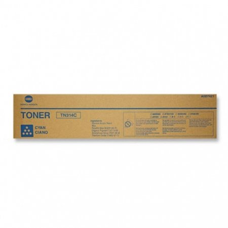 Genuine Konica-Minolta TN314C Cyan Toner