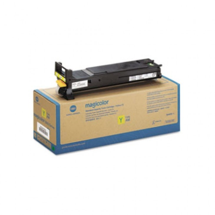 Konica Minolta A0DK232 High-Yield Yellow OEM Toner Cartridge