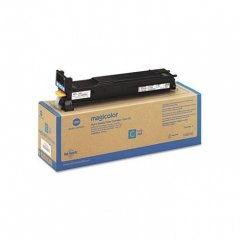 Konica Minolta A0DK432 High-Yield Cyan OEM Toner Cartridge