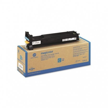 Konica Minolta A0DK432 High-Yield Cyan OEM Toner Cartridge