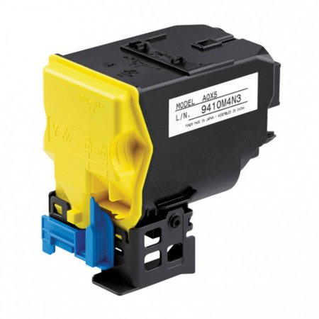 Konica Minolta A0X5230 High-Yield Yellow OEM Toner Cartridge