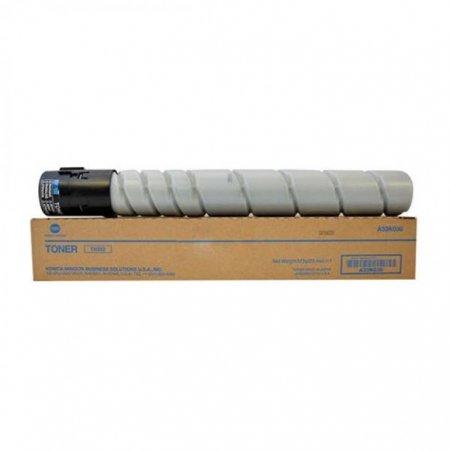 Konica-Minolta TN-322 black OEM toner cartridge.