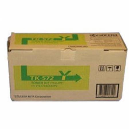 Genuine Kyocera-Mita TK-572Y Yellow Cartridge