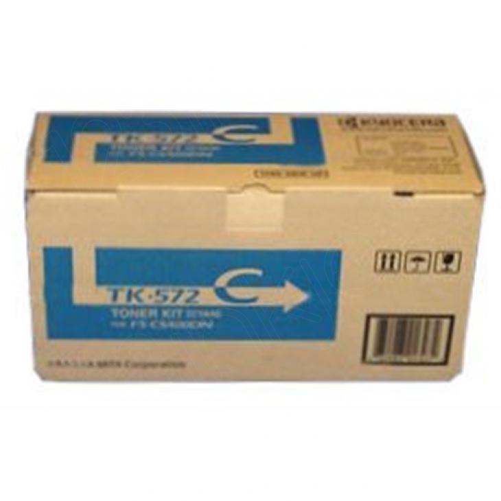 Genuine Kyocera-Mita TK-572C Cyan Cartridge