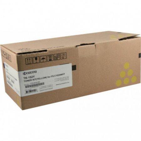 Kyocera Mita TK-152Y Yellow OEM Laser Toner Cartridge