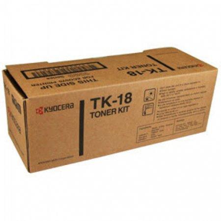 Kyocera Mita TK-18 Black OEM Laser Toner Cartridge