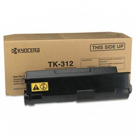 Kyocera Mita TK-312 Black OEM Laser Toner Cartridge