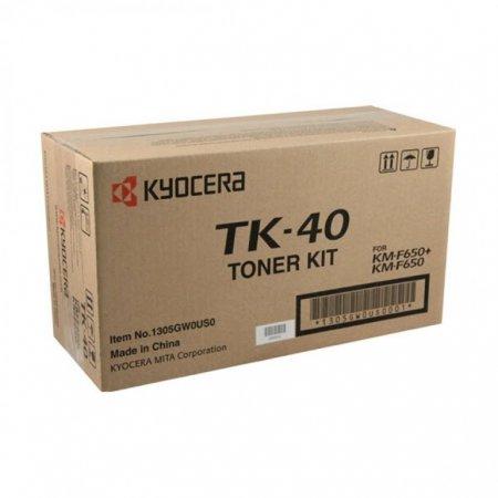 Kyocera-Mita TK-40 Black OEM Laser Toner Cartridge