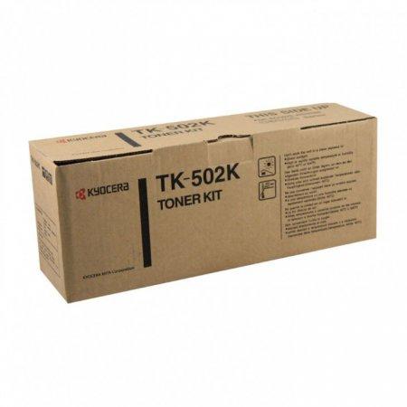 Kyocera-Mita TK-502K Black OEM Laser Toner Cartridge