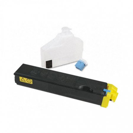 Kyocera-Mita TK-502Y Yellow OEM Laser Toner Cartridge