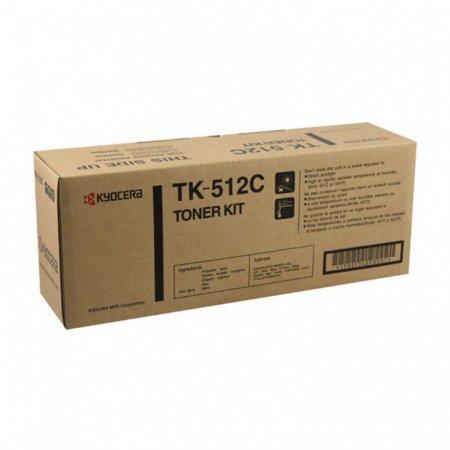 Kyocera-Mita TK-512C Cyan OEM Laser Toner Cartridge