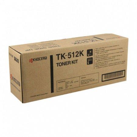 Kyocera-Mita TK-512K Black OEM Laser Toner Cartridge