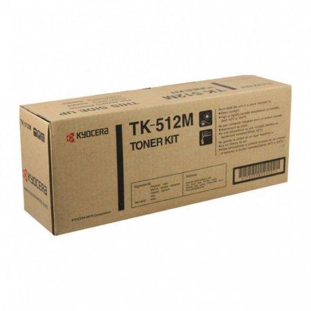 Kyocera-Mita TK-512M Magenta OEM Laser Toner Cartridge