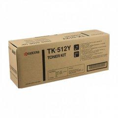 Kyocera-Mita TK-512Y Yellow OEM Laser Toner Cartridge
