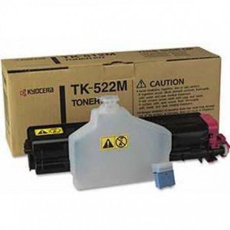 Kyocera-Mita TK-522M Magenta OEM Laser Toner Cartridge