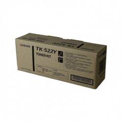 Kyocera-Mita TK-522Y Yellow OEM Laser Toner Cartridge