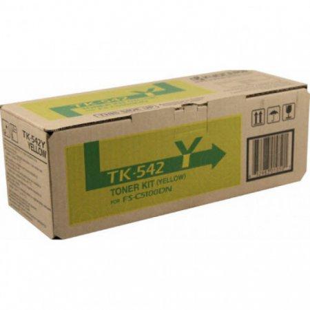 Kyocera-Mita TK-542Y Yellow OEM Laser Toner Cartridge