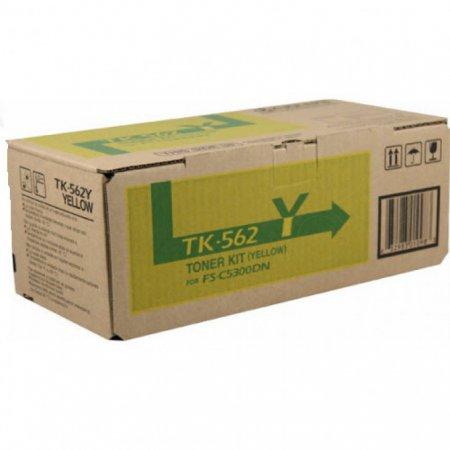 Kyocera-Mita TK-562Y Yellow OEM Laser Toner Cartridge