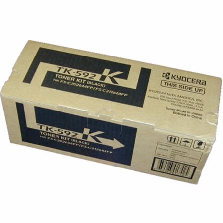 Kyocera Mita TK-592K Black OEM Laser Toner Cartridge