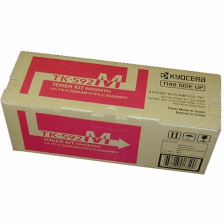 Kyocera Mita TK-592M Magenta OEM Laser Toner Cartridge