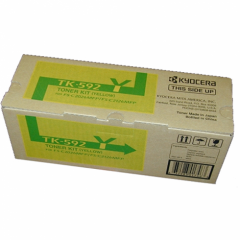 Kyocera Mita TK-592Y Yellow OEM Laser Toner Cartridge