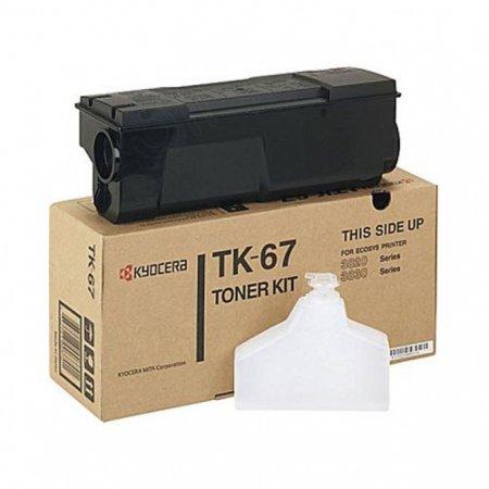 Kyocera-Mita TK-67 Black OEM Laser Toner Cartridge