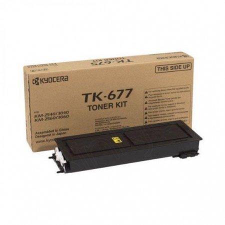 Kyocera-Mita TK-677 Black OEM Laser Toner Cartridge