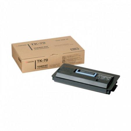 Kyocera-Mita TK-70 Black OEM Laser Toner Cartridge