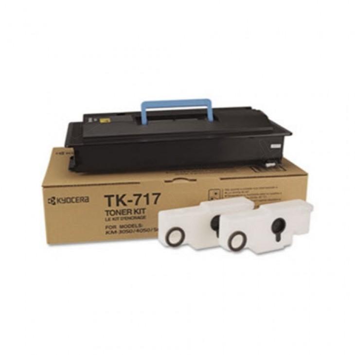 Kyocera-Mita TK-717 Black OEM Laser Toner Cartridge