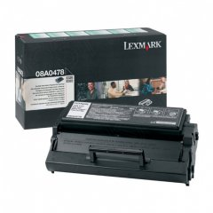 Lexmark 08A0478 High-Yield Black OEM Laser Toner Cartridge