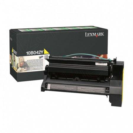 Lexmark 10B042Y High-Yield Yellow OEM Laser Toner Cartridge
