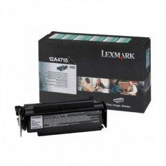 Lexmark 12A4715 High-Yield Black OEM Laser Toner Cartridge