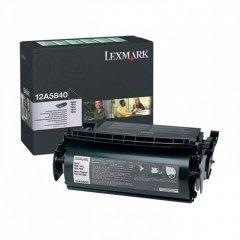 Lexmark 12A5840 Black OEM Laser Toner Cartridge