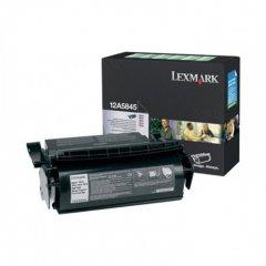 Lexmark 12A5845 High-Yield Black OEM Laser Toner Cartridge
