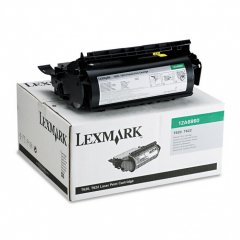 Lexmark 12A6860 Black OEM Laser Toner Cartridge