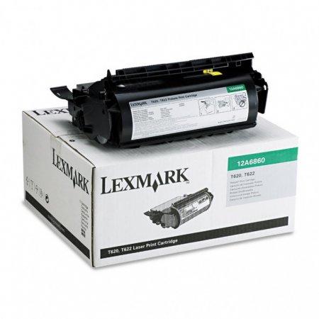 Lexmark 12A6860 Black OEM Laser Toner Cartridge