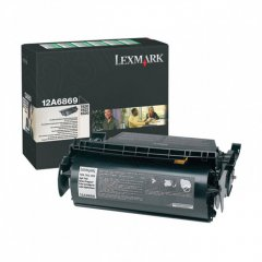 Lexmark 12A6869 High Yield Black OEM Laser Toner Cartridge