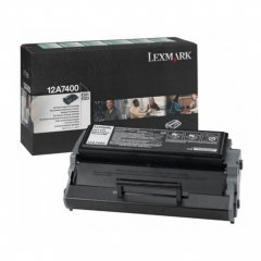 Lexmark 12A7400 Black OEM Laser Toner Cartridge