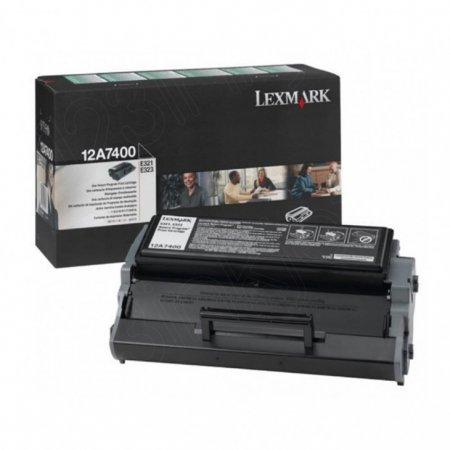 Lexmark 12A7400 Black OEM Laser Toner Cartridge